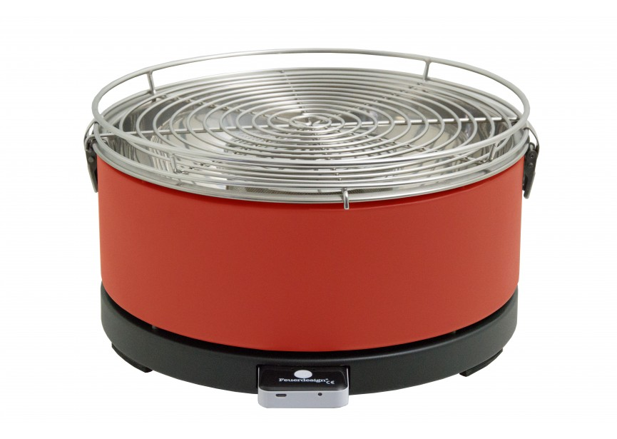 Feuerdesign MAYON ROOD rookvrije tafel grill barbecue